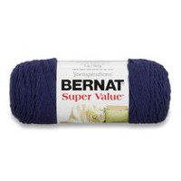 Bernat Super Value Yarn Denim Heather