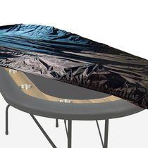 Nylon cover for oval poker table 8'