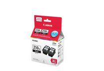 Canon - Cartouches d'encre noire PG-210XL, paquet double