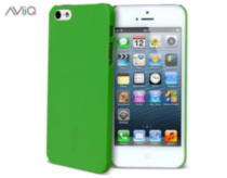AViiQ Thin Series Hard Shell Case for iPhone5/5s Deep Mint