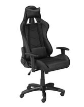 Sorrento Gaming Chair with Tilt & Recline, Black