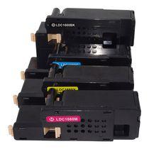 L-ink Dell 1660 Ensemble de Cartouches de Toner Compatibles N/C/M/J (332-0399, 332-0400, 332-0401, 332-0402)