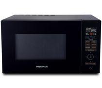 Farberware Gourmet FMO11AESBKA 1.1 Cu. Ft 1100-Watt Microwave Oven with Smart Sensor, Inverter Technology, and Sensor Touch Control Panel, Black
