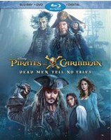 Pirates Of The Caribbean - Dead Men Tell No Tales (Blu-ray + DVD + Digital HD)