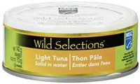 Wild Selections Solid Light Skipjack Tuna in Water