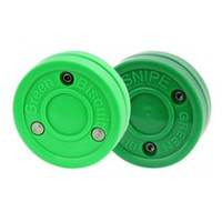 Green Biscuit Training Hockey Pucks Combo