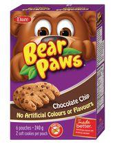 Pépites de chocolat Pattes d'ours Biscuits