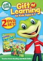 LEAPFROG GIFT OF LEARNING KIDS 4-7 2DVD SET