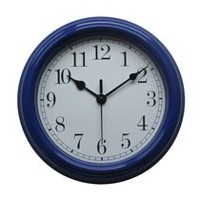 hometrends Basic Blue Wall Clock
