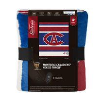 Sunbeam® Montrel Canadiens® Heated Throw