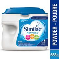 Similac Advance Non-GMO Step 1 Omega-3 and Omega-6 Infant Formula Powder