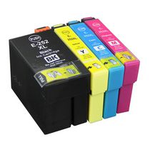 Ensemble de cartouches à jet d'encres compatibles L-ink CEPS-T252XLSET