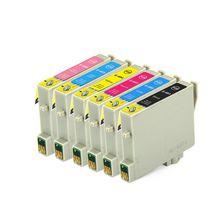 Ensemble de cartouches à jet d'encres compatibles L-ink CEPS-T048SET