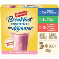 Carnation Breakfast Essentials Strawberry Breakfast Powder Drink Mix
