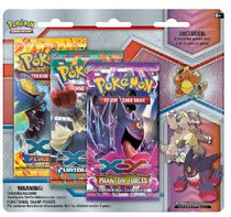 Pokémon XY5 Mega Kangaskhan Pin Trading Card Game, 3 Pack - English