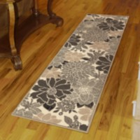 Orian Rugs Paulette Woven Fleece Runner Rug 1 ft. 11 in. x 7 ft. 5 in.