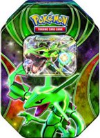 Pokemon 2015 Fall Tin Trading Card Game - Rayquaza-EX, Green - French