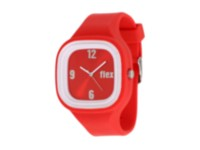 Flex Watch - Supports causes with bright interchangeable colors. Red