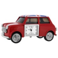 Mini Cooper Car Collectible Desktop Mini Clock (C182RD)