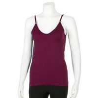 George Women's Reversible Seamless Cami Burgundy XL