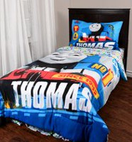 Thomas & Friends Twin Size Multi-coloured Comforter
