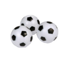 Hathaway Games Soccer Ball Style Foosballs - 3-pack