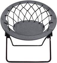 Nicer Furniture Grey Round Bungee Chair