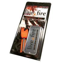 Live Fire Emergency Fire Starter Survival Kit
