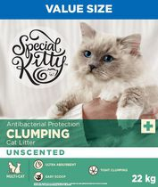 Special Kitty Antibacterial Protection Clumping Cat Litter