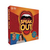 Speak Out Mouthpiece Challenge Game - English