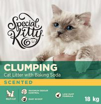 Special Kitty Clumping Cat Litter with Baking Soda - Scented