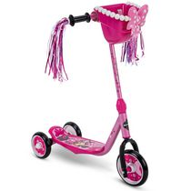 Disney Minnie Mouse 3-Wheel Girls' Quick Connect Scooter, by Huffy