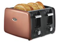 Oster 4-Slice Retractable Cord Toaster Copper