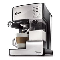 Oster Prima Latte Espresso, Cappuccino and Latte Maker, Stainless Steel, BVSTEM6601S-033