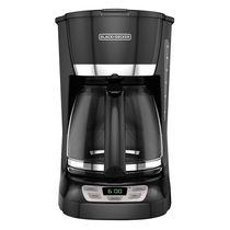 Black + Decker 12-Cup Programmable Coffeemaker.