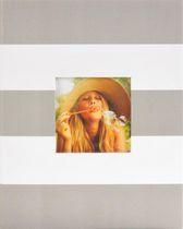 Pinnacle Frames 2-up Stripes Photo Album