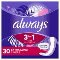 Always Odor-Lock Extra Long Deodorizing Pantiliners