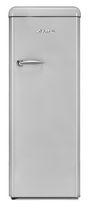 Epic Silver Retro All-Refrigerator