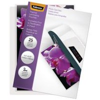 Fellowes Thermal Laminating Pouches - Photo, Pack of 25