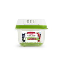 Mainstays 4-Pack Food Storage 0.6 L Containers Set with Microvent Lids