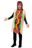 Partyholic Men's Hot Dog Costume