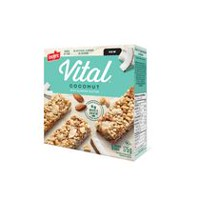 Vital Coconut with Almond Butter Chewy Bars