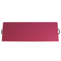 Apple Athletic Single Panel Exercise Mat Pink