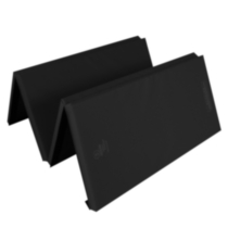 Apple Athletic 4 Panel Exercise Mat Black