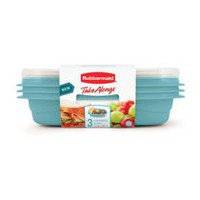 Rubbermaid TakeAlongs Snack & Go Food Containers