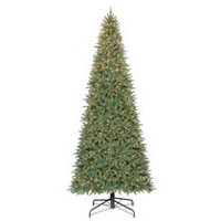 Holiday Time 12' Williams Quick Set Slim Pine with Clear Lights Christmas Tree