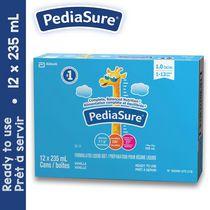 PediaSure, préparation pour régime liquide, 12 x 235 mL, vanille