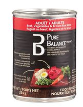 Pure Balance Adult Beef Vegetables & Brown Rice Wet Dog Food