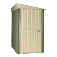 Globel 4' x 6' Steel Lean-to Storage Shed