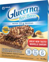 Glucerna Peanut and Chocolate Bars